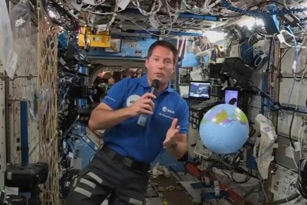 ISS: Franse astronaut installeert door België gestuurd experiment in ruimtestation ISS