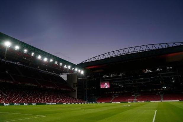 Euro 2020: Les Diables Rouges devant au moins 11.000 spectateurs à Copenhague