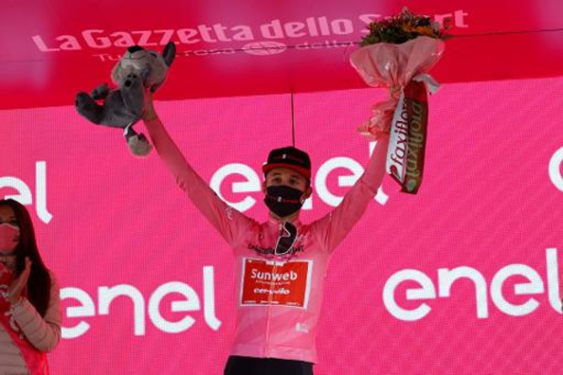 Giro - Jai Hindley beleeft een droom