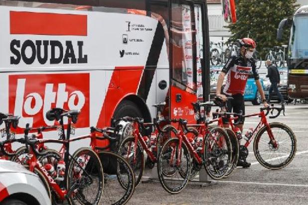 Wegen Lotto en Soudal scheiden na seizoen 2022, Lotto blijft als hoofdsponsor aan