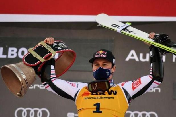Le skieur Alexis Pinturault écrase la concurrence à Adelboden