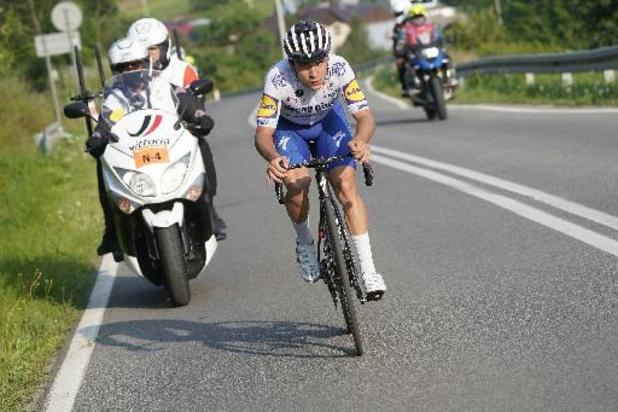 """Evenepoel veut voir """"comment son corps réagira"""" durant le Giro, où il effrectue son retoir"""