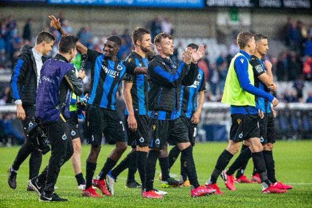 Le Club de Bruges ouvrira le bal en Ligue des Champions contre le Paris Saint-Germain à domicile