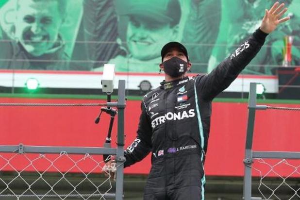 Lewis Hamilton aura besoin de temps pour réaliser qu'il a battu le record de victoires