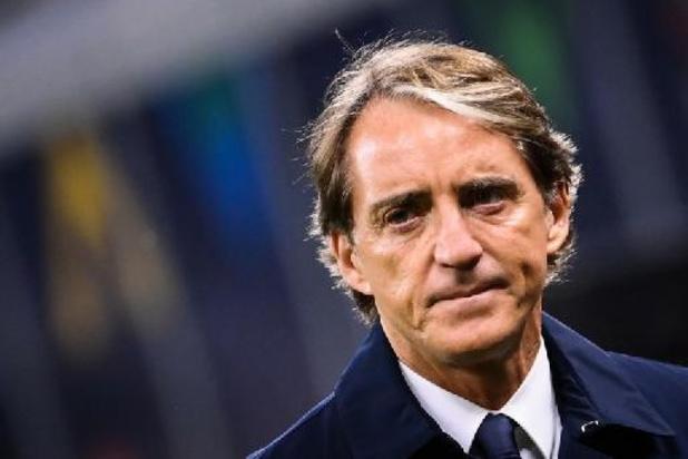 """Ligue des Nations - Roberto Mancini regrette les """"épisodes"""" de la fin de la première période"""