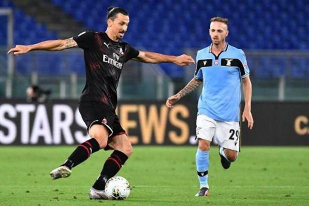 Les Belges à l'étranger - La Lazio coule contre l'AC Milan et offre une voie royale à la Juventus