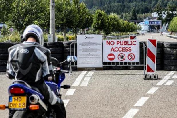 F1 - GP van België - Politie mobiliseert zich om toegang tot circuit te ontzeggen
