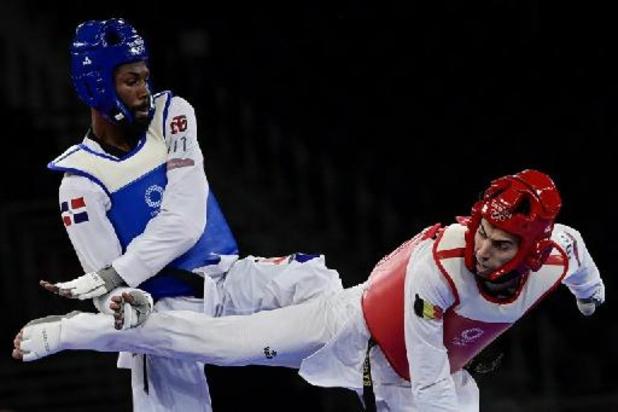 JO 2020 - Jaouad Achab éliminé dès les huitièmes de finale en -68 kg en taekwondo