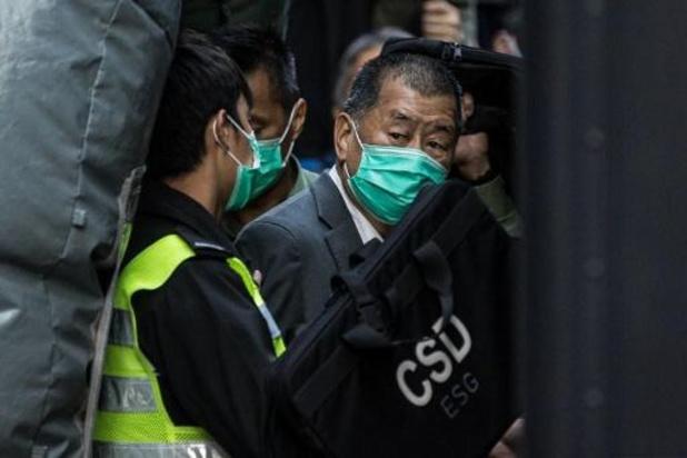 Mediamagnaat Jimmy Lai opgepakt in Hongkong voor helpen van voortvluchtige