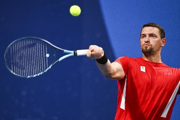 """Joachim Gérard gagne aisément son 1er match: """"C'est bien de commencer le tournoi comme ça"""""""