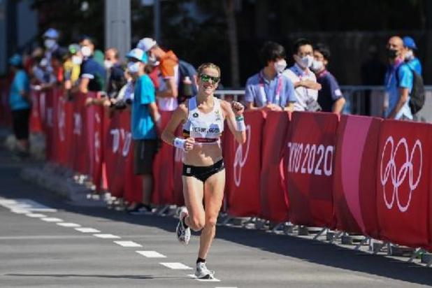 "OS 2020 - Hanne Verbruggen tevreden na marathon: ""Maar had toch liever wat meer vooraan geëindigd"""