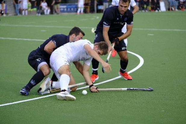 Belgian Men Hockey League - L'Orée bat le Racing 4-3 et reprend seul la tête du championnat