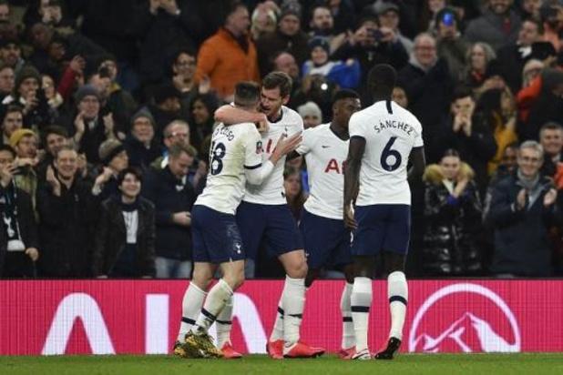 Belgen in het buitenland - Tottenham sneuvelt in achtste finales na strafschoppen, ondanks treffer van Vertonghen