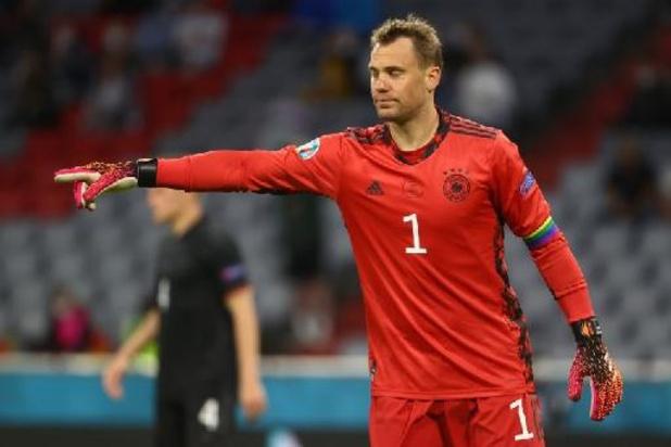 """Euro 2020 - """"Le match pouvait basculer"""" des deux côtés, estime Neuer"""