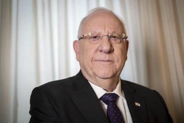 """President Rivlin wil """"stabiele"""" regering met de partijen van Netanyahi en Gantz"""