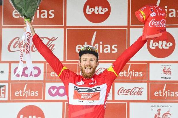 """Tour de Wallonie - Simmons, premier lauréat américain du Tour de Wallonie : """"Gagner en Europe, c'est génial"""""""
