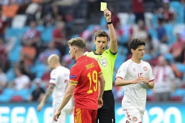Daniel Siebert moet clash tussen België en Frankrijk in goede banen leiden