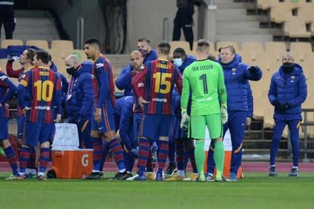 Copa del Rey - FC Barcelona heeft verlenging nodig tegen derdeklasser Cornellà