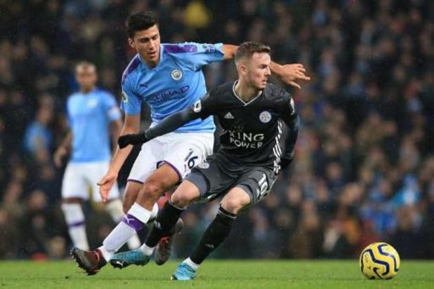 Belgen in het buitenland - Manchester City zet Leicester opzij in topper