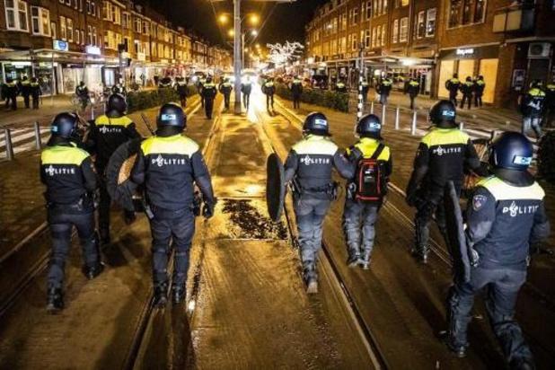 131 personnes interpellées mardi dans tout le Pays-Bas pour émeute et violences