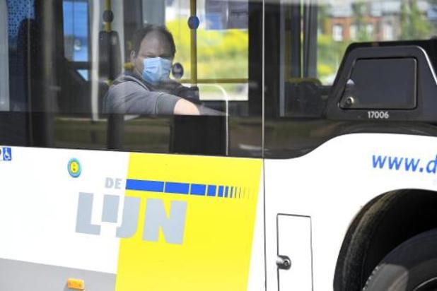 Augmentation substantielle des plaintes et des voyages annulés chez De Lijn en 2019