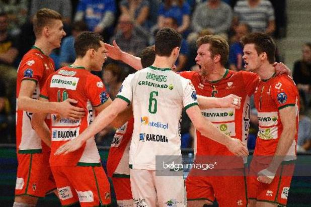 Euromillions Volley League - Maaseik et Roulers assurés de jouer la finale des play-offs