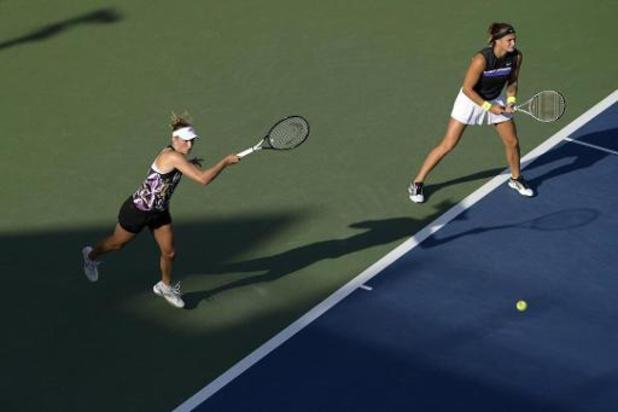 Elise Mertens grijpt met Sabalenka naast plek in halve finales dubbelspel