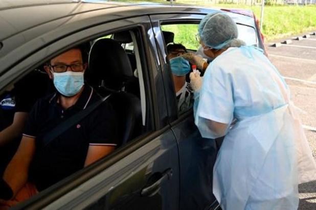 Bijna 10.000 nieuwe besmettingen in Frankrijk