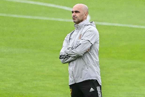 """EK 2020 - Roberto Martinez over zieke Chadli: """"Misschien komt hij morgen nog naar Sevilla"""""""