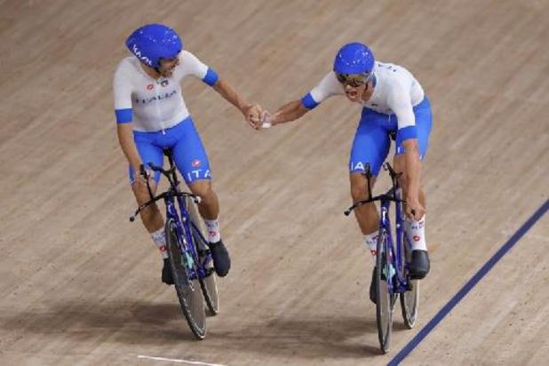 Italiaanse baanwielrenners verbeteren wereldrecord ploegenachtervolging