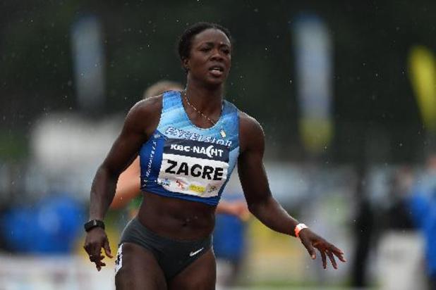 Nuit de l'Athlétisme - Anne Zagré poursuit sans relâche ses entraînements en vue des JO de Tokyo