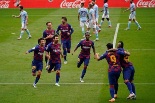 La Liga - Barcelone perd des points au Celta Vigo