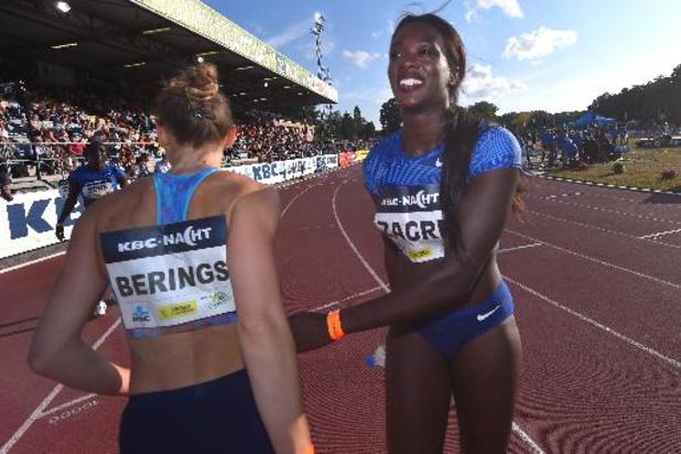 BK atletiek: Seizoensbeste voor Berings op de horden, Camille Laus is snelste Cheetah