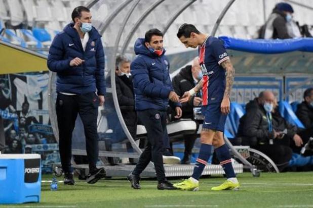 Di Maria (PSG) forfait pour le 8e de finale aller de Ligue des champions à Barcelone