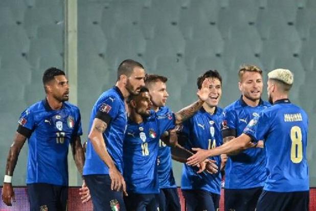 L'Italie égale le record d'invincibilité des équipes nationales