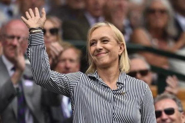 """Comeback Kim Clijsters - Martina Navratilova: """"Clijsters heeft nog vier mooie jaren voor zich"""""""