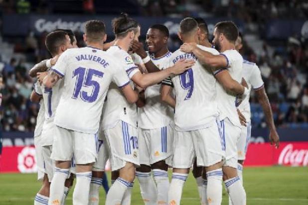 Belgen in het buitenland - Hazard en Courtois geraken met Real Madrid niet voorbij Levante