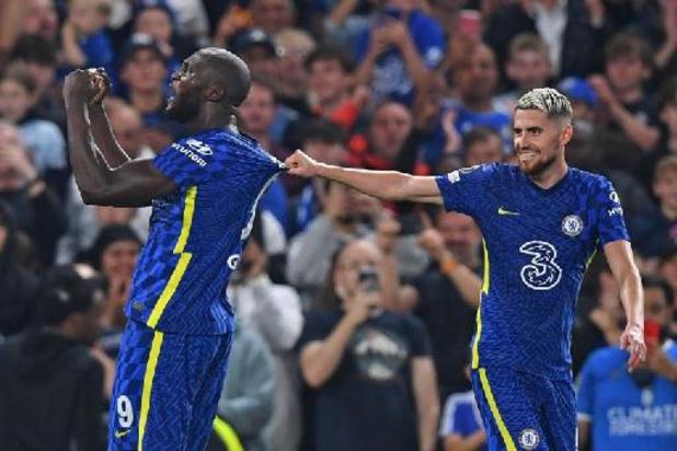 Belgen in het buitenland - Lukaku staat in Champions League meteen aan het kanon en bezorgt Chelsea zege