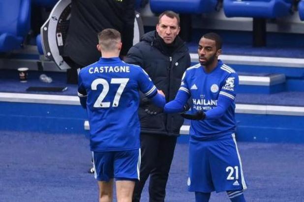 Leicester City kan opnieuw op Castagne rekenen