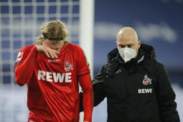 Belgen in het buitenland - Bornauw gaat met FC Keulen kansloos onderuit in Hoffenheim