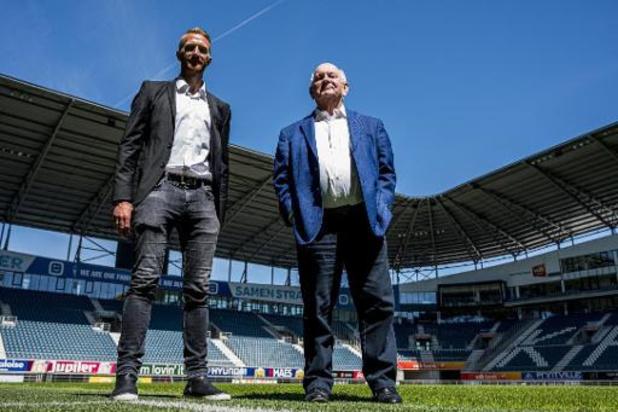 Voorzitter Ivan De Witte gaat met AA Gent resoluut voor titel, Wim De Decker wordt T2