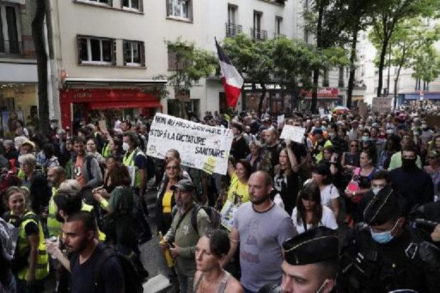 Des manifestations contre la vaccination et le pass sanitaire en France