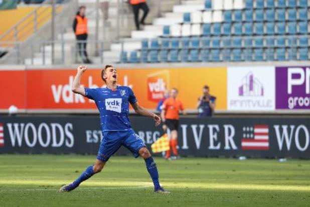 Gent maakt achterstand goed en viert met 2-1 tegen Cercle Brugge