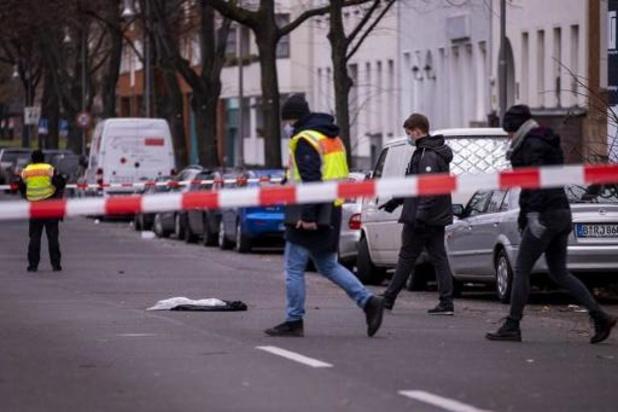 Schietpartij Berlijn: twee vermoedelijke daders in staat van beschuldiging gesteld