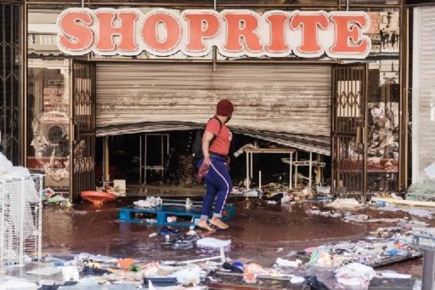 Tensions en Afrique du Sud - Afrique du Sud: le bilan des violences porté à 117 morts, calme relatif à Johannesburg
