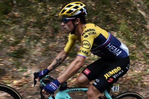 Critérium du Dauphiné: Primoz Roglic l'emporte au col de Porte et prend le maillot jaune