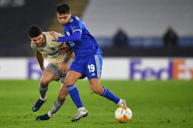 Les Belges à l'étranger - Leicester, avec Tielemans et Praet, bat l'AEK et assure sa première place