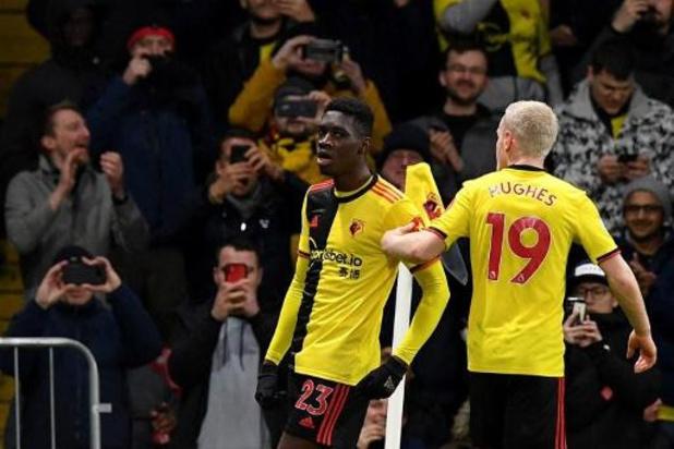 Belgen in het buitenland - Kabasele en Watford maken einde aan ongeslagen status van Liverpool