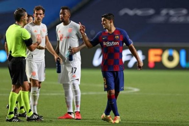 Ronald Koeman, le nouvel entraîneur de Barcelone, indique la sortie à Luis Suarez