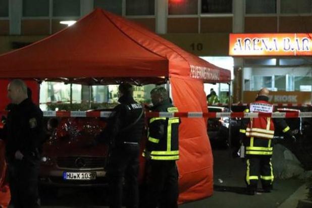 Burgemeester Hanau geschokt door schietpartijen met acht doden